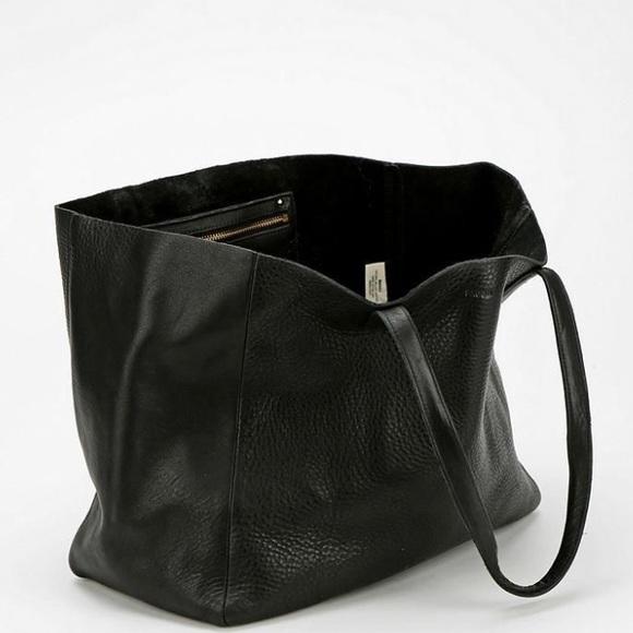 b6e44e53620c BAGGU Handbags - Baggu Oversized Leather Tote